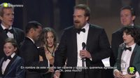 El discurso de David Harbour de 'Stranger Things' en los SAG Awards 2017, traducido