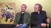 'Batman: La LEGO Película': Entrevista con Claudio Serrano y José Coronado