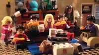 'The Big Bang Theory' cabecera especial LEGO