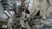 'The Walking Dead': Lucha de Rick contra el zombie de espinas