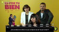 """'Es por tu bien': Carmen Ruiz """"Hay que tomarse la comedia muy en serio"""""""