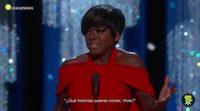 Oscar 2017: Viola Davis emociona con su discurso de agradecimiento