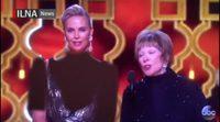 Televisión iraní censura el vestido de Charlize Theron en los Oscar 2017