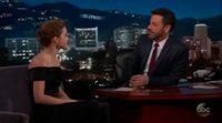 Emma Watson admite en el programa de Jimmy Kimmel haber sido una pringada