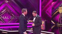 Broma en los Goldene Kamera: Un imitador de 'Ryan Gosling' recoge el premio por 'La La Land'