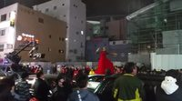 Escena de rodaje de 'Black Panther' en Busan
