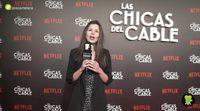 Los protagonistas de 'Las chicas del cable' nos confiesan con qué ídolo les gustaría tener una llamada