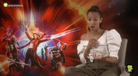 Zoe Saldana habla del proceso de caracterización como Gamora en 'Guardianes de la galaxia Vol. 2'