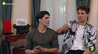 Entrevista Yon González y Martiño Rivas ('Las chicas del cable')