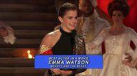 Emma Watson acepta su MTV Award por 'La Bella y la Bestia'