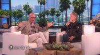Michael Keaton habla de 'Batman' y 'Spider-man' en Ellen