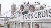 Tom Cruise de crucero por Londres con James Corden