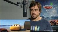 Así es el cameo de Fernando Alonso en Cars 3