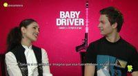 """Eiza González y Ansel Elgort ('Baby Driver'): """"En el rodaje nos sincronizábamos al escuchar la misma canción"""""""