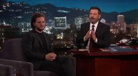 Kit Harington en 'Jimmy Kimmel Live'
