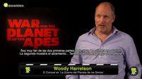 """Woody Harrelson: """"'La guerra del planeta de los simios' es un reflejo de la actualidad"""""""