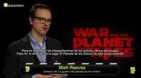 """Matt Reeves ('La guerra del planeta de los simios'): """"Los simios somos nosotros"""""""