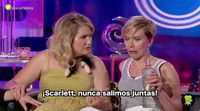 Scarlett Johansson se va de despedida de soltera a la española