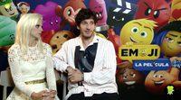 Los dobladores de 'Emoji: La película' responden a nuestro test sobre emojis