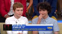 El reparto de 'It' en Good Morning America