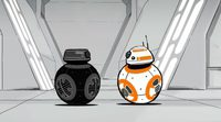BB-8 conoce a BB-9E 'Star Wars'