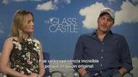 """Woody Harrelson ('El castillo de cristal'): """"Todo el que tenga familia puede emocionarse con la película"""""""