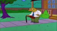 Escena de Hans Topo en 'Los Simpson'