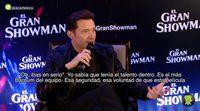 Hugh Jackman visita Madrid para presentar 'El Gran Showman'