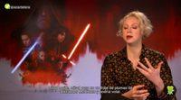 'Star Wars': Gwendoline Christie y sus locas ideas para la nueva trilogía