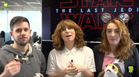 eCatfight: 'Star Wars: Los últimos Jedi' con spoilers