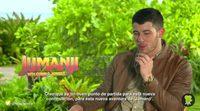 """Nick Jonas: """"No tenía sentido jugar con una película tan querida como 'Jumanji'"""""""