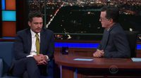 James Franco habla de las acusaciones contra él en The Late Show with Stephen Colbert