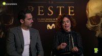 Patricia López Arnaiz y Paco León ('La peste'):