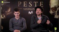 """Sergio Castellanos y Pablo Molinero ('La peste'): """"Hay algo amargo de aquella época que ves cuando ves la serie"""""""