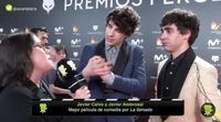 Premios Feroz 2018: Así fueron las primeras declaraciones de los triunfadores de la noche