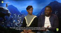'Black Panther' - Entrevista con Daniel Kaluuya y Letitia Wright