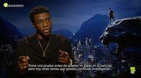 'Black Panther' - Entrevista a Chadwick Boseman