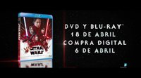 Tráiler del lanzamiento en DVD y alta definición de 'Star Wars: Los últimos Jedi'