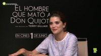 """Joana Ribeiro ('El hombre que mató a Don Quijote'): """"Terry Gilliam es como un niño, tiene una imaginación muy fuerte"""""""