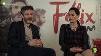 """Leonardo Sbaraglia y Mi Hoa Lee ('Félix'): """"Félix es un personaje muy atípico, en vías de extinción"""""""