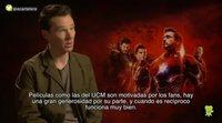 Benedict Cumberbatch opina sobre las expectativas de los fans de Marvel