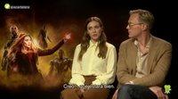 Elizabeth Olsen, Paul Bettany y cómo un romance encaja en 'Infinity War'