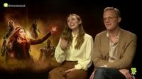 Elizabeth Olsen, Paul Bettany and how a romance fits in 'Avengers: Infinity War'