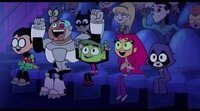 'Teen Titans Go! To the movies' Official trailer