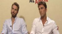 Entrevista a Álex Barahona y Rubén Sanz, de 'Lo contrario al amor'