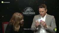 Chris Pratt y Bryce Dallas Howard eligen al rey de los dinosaurios