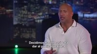 Entrevista exclusiva Dwayne Johnson, 'El rascacielos'