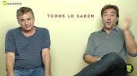'Todos lo saben' - Entrevista a Javier Bardem y Eduard Fernández