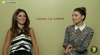 'Todos lo saben' - Entrevista a Penélope Cruz y Bárbara Lennie
