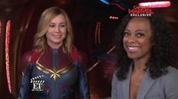 On the set of 'Captain Marvel'